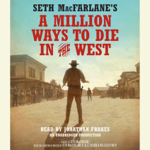 Seth MacFarlane's A Million Ways to Die in the West Cover