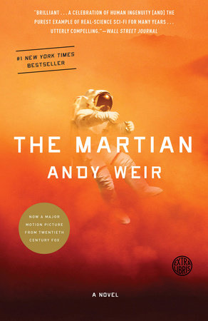 The cover of the book The Martian