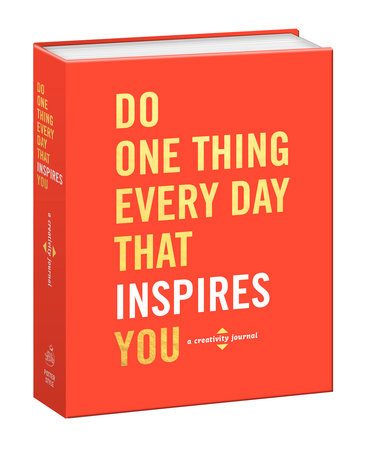 The cover of the book Do One Thing Every Day That Inspires You