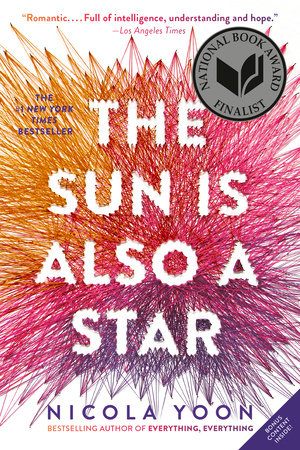 The Sun Is Also a Star Book Cover Picture