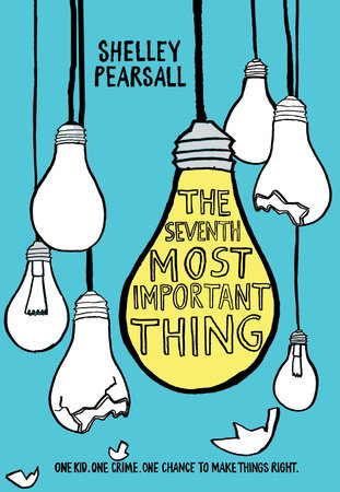 Image result for The Seventh Most Important Thing book cover