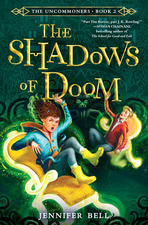 The Uncommoners #2: The Shadows of Doom by Jennifer Bell