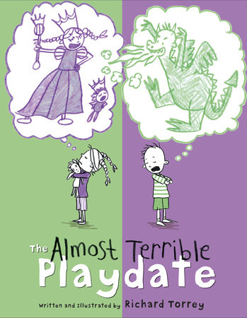 The Almost Terrible Playdate by Richard Torrey
