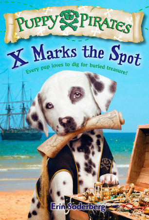 Puppy Pirates #2: X Marks the Spot by Erin Soderberg