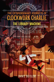 The Library Machine (The Extraordinary Journeys of Clockwork Charlie)