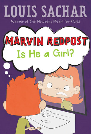 Marvin Redpost #3: Is He a Girl? by Louis Sachar