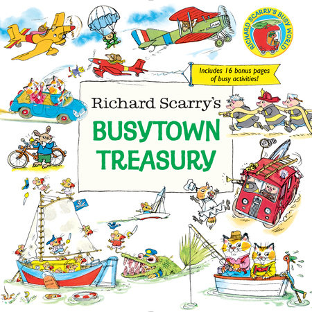 Richard Scarry's Busytown Treasury by Richard Scarry