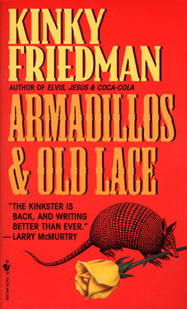 Armadillos and Old Lace Book Cover Picture