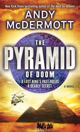 The Pyramid of Doom by Andy McDermott