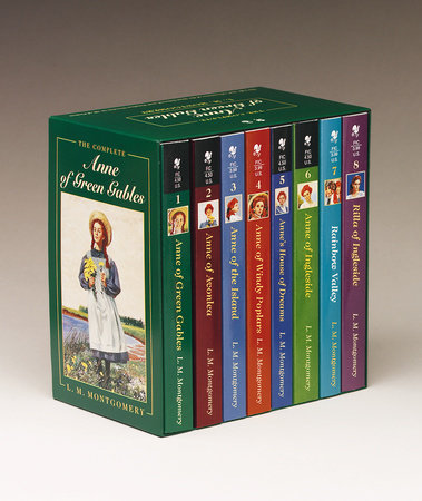 Anne of Green Gables, Complete 8-Book Box Set by L. M. Montgomery