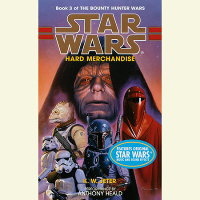 Star Wars: The Bounty Hunter Wars: Hard Merchandise cover