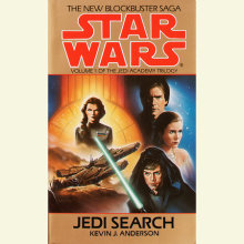 Jedi Search: Star Wars (The Jedi Academy) Cover
