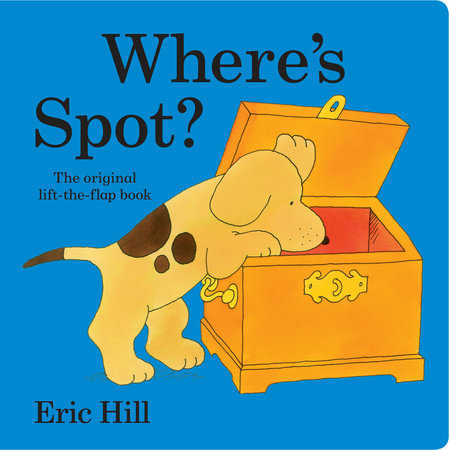 Where's Spot? (Lap Board Book) by Eric Hill