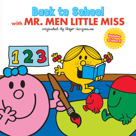 Back to School with Mr. Men Little Miss by Adam Hargreaves