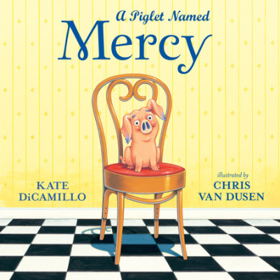 A Piglet Named Mercy cover