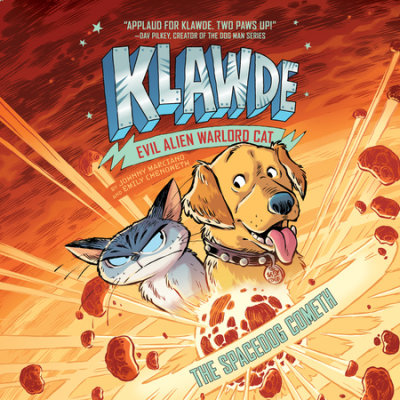 Klawde: Evil Alien Warlord Cat: The Spacedog Cometh #3 cover