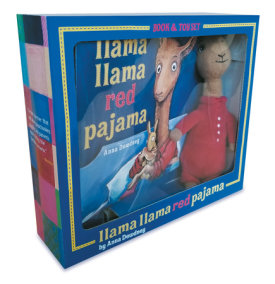 Llama Llama Red Pajama Book and Plush