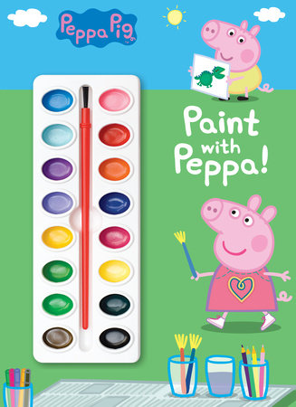 Paint with Peppa! (Peppa Pig) by Golden Books