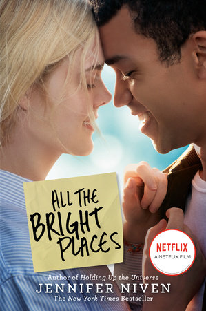 The cover of the book All the Bright Places