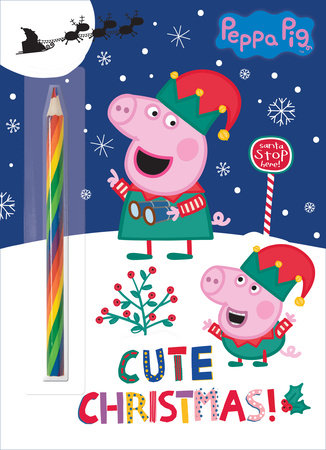 Cute Christmas! (Peppa Pig) by Golden Books