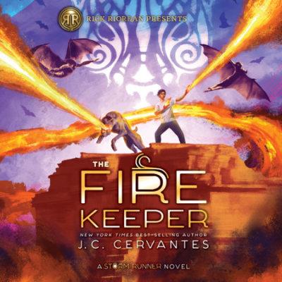 The Fire Keeper (A Storm Runner Novel, Book 2) cover