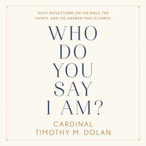 Who Do You Say I Am? Cover
