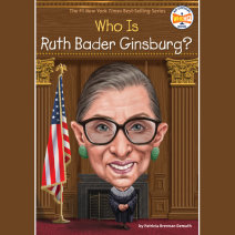 Who Was Ruth Bader Ginsburg? Cover