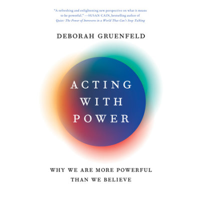 Acting with Power cover