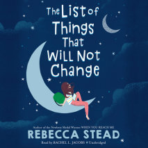 The List of Things That Will Not Change cover big