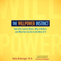 The Willpower Instinct Cover