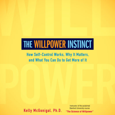 The Willpower Instinct cover