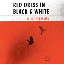 Red Dress in Black and White Cover