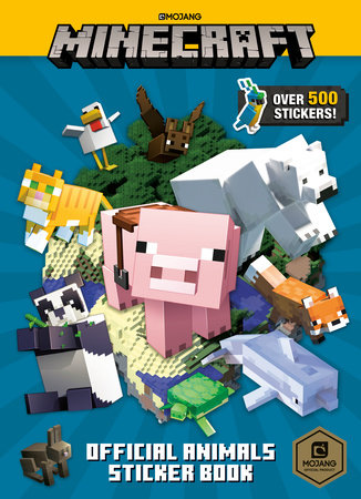 Minecraft Official Animals Sticker Book