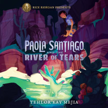 Paola Santiago and the River of Tears Cover