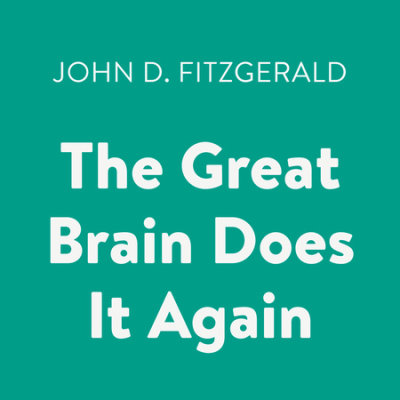 The Great Brain Does It Again cover