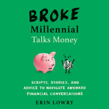 Broke Millennial Talks Money Cover