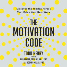 The Motivation Code Cover