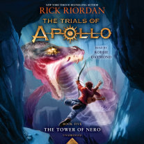 The Tower of Nero (Trials of Apollo, Book Five) Cover