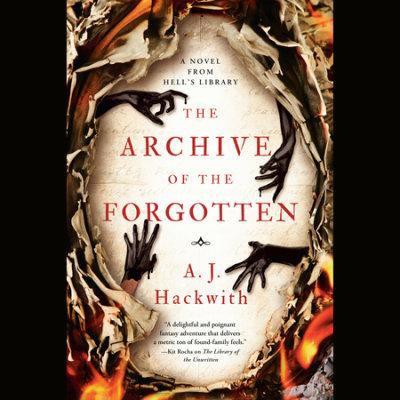The Archive of the Forgotten cover