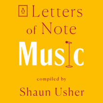 Letters of Note: Music Cover