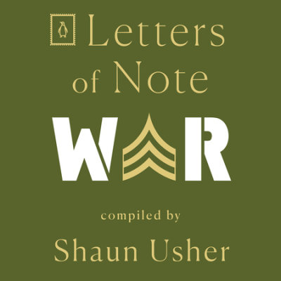 Letters of Note: War cover