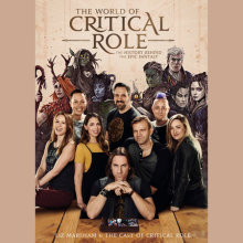 The World of Critical Role Cover