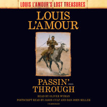 Passin' Through (Louis L'Amour's Lost Treasures) Cover
