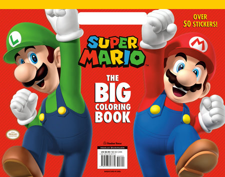 Super Mario: The Big Coloring Book (Nintendo) By Random House:  9780593307779 PenguinRandomHouse.com: Books