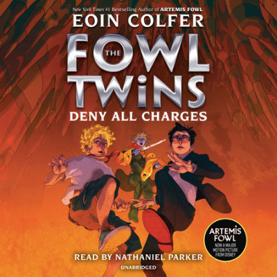 The Fowl Twins, Book Two: Deny All Charges cover