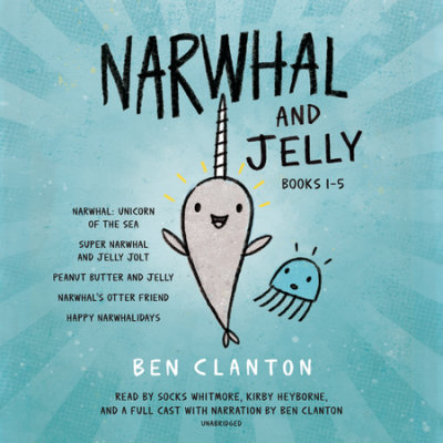 Narwhal and Jelly Books 1-5 cover