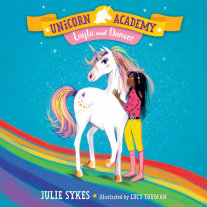Unicorn Academy #5: Layla and Dancer Cover