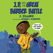 J.D. and the Great Barber Battle Cover