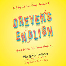 Dreyer's English (Adapted for Young Readers) Cover