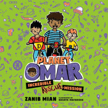 Planet Omar: Incredible Rescue Mission Cover